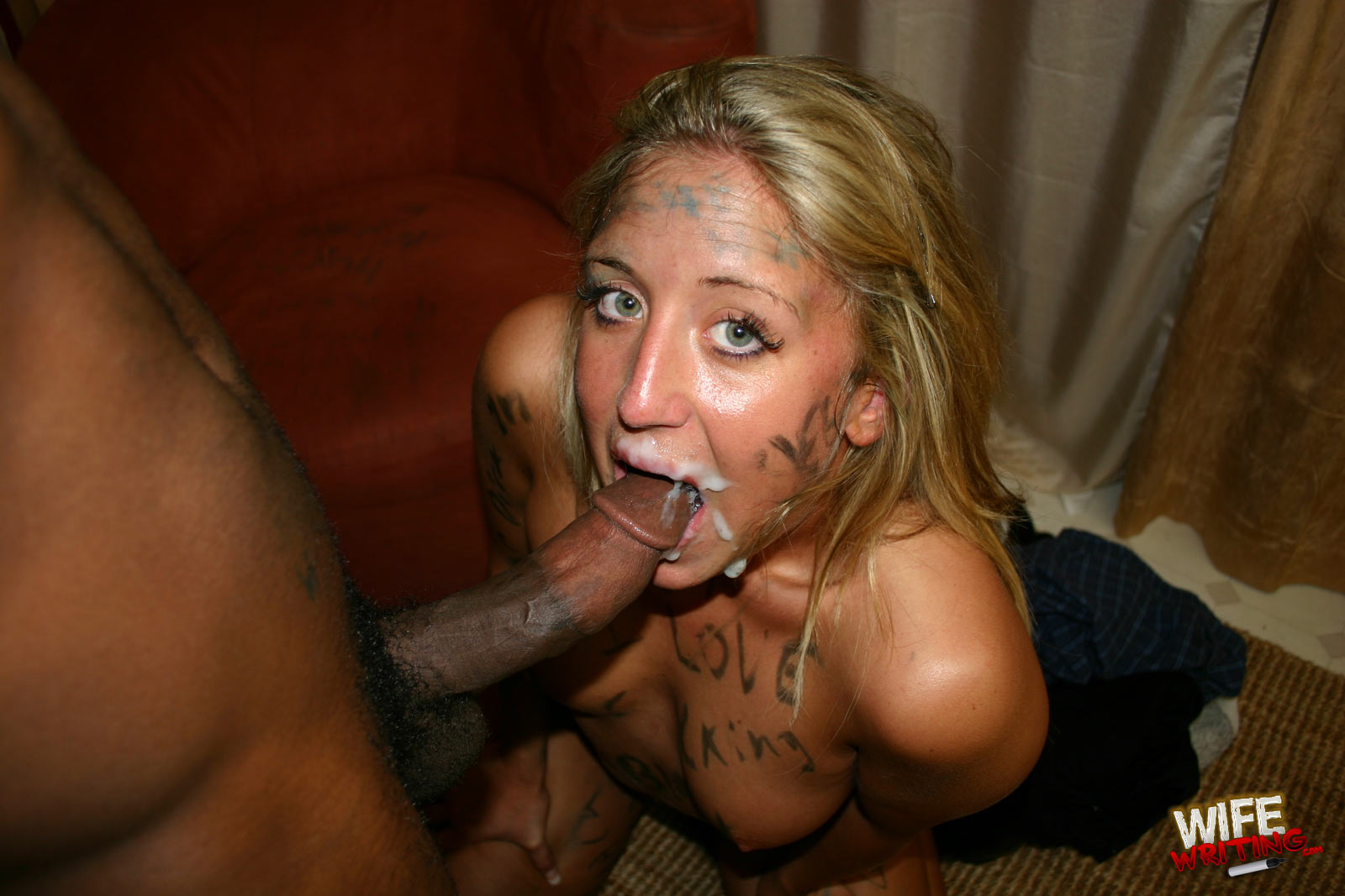 Bitch sex blond young