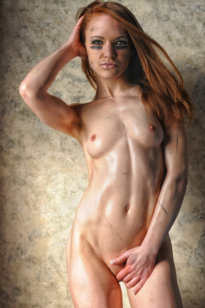 Nude Female Skinny With Abs