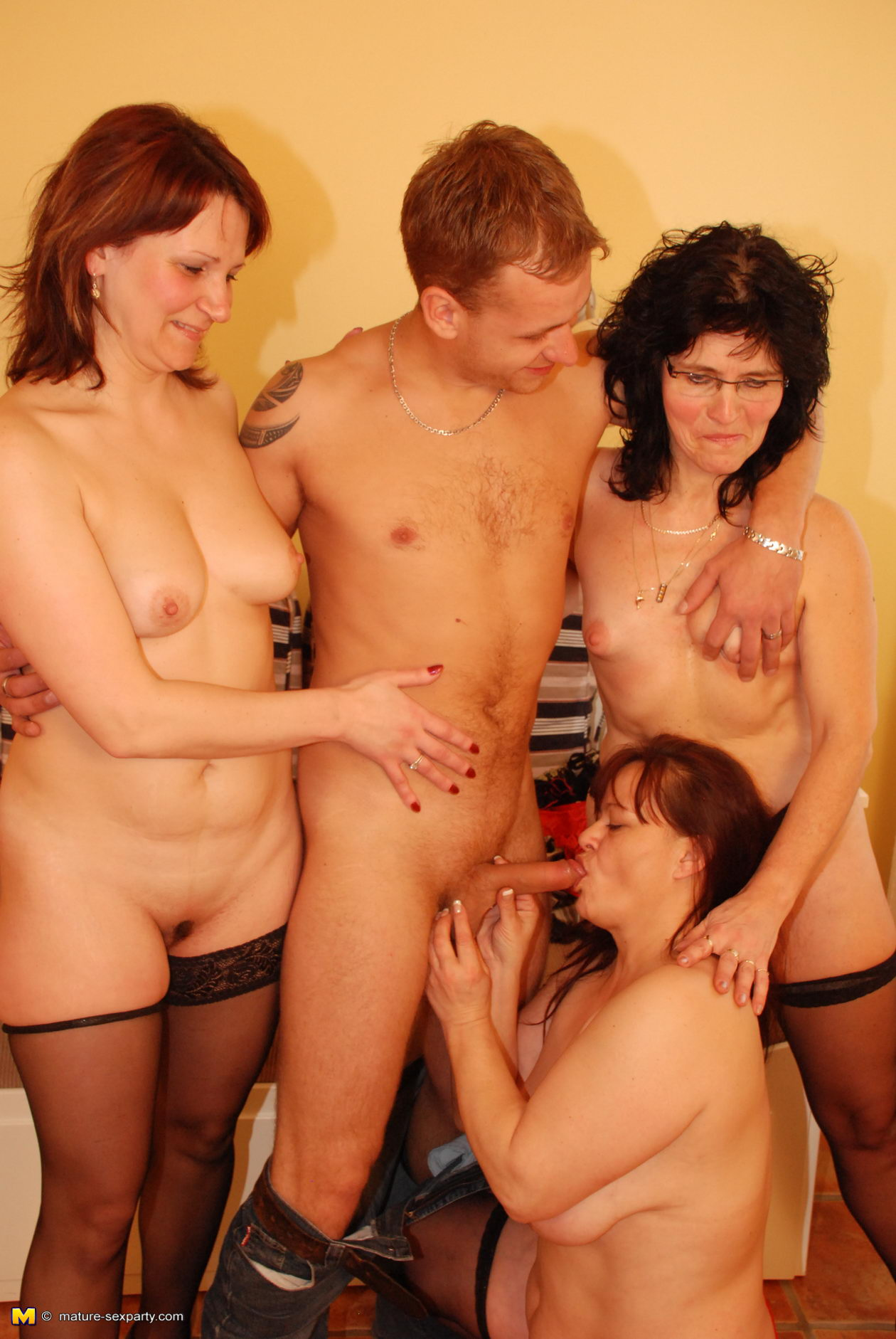 3 Matures And Boy Porn showing media & posts for three matures one boy xxx | www